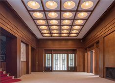 Rooms of the Former Residence of Prince Asaka/Great Hall/ Interior design by Henri Rapin