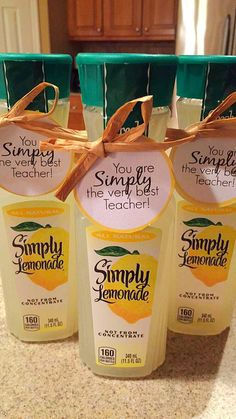 End of year teacher gifts!