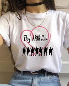 Multiple K-pop Blackpink Ateez T Shirt Women TXT Twice Tshirt Kpop Exo Boy with Luv Tees T-shirt Female Bts T-shirt, Kpop Shirts, Exo Merch, Bts Clothing, Mode Kpop, Bts Inspired Outfits, Kpop Outfits, Concert Outfits, Bts Concert