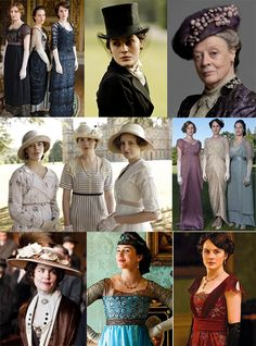The fashion in this show. Love Downtown Abbey