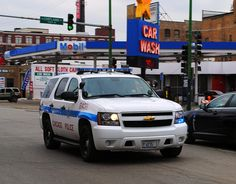 Chicago Police Tahoe.