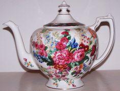 Stunning Ralph Lauren Hampton Floral Teapot Lid Wedgwood England | eBay