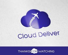Cloud Deliver by crazstudio on Creative Market