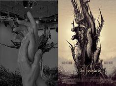 The fountain : evolution of movie posters : tomasz opasinski