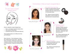 Brows 101 - Do you have a heart shaped face?