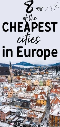 top travel destinations 8 Of The Cheapest Cities In Europe That You Need To Visit! Looking for affordable destinations in Europe that wont break the bank Here are our top picks for cities including a daily budget for them. Beautiful Places To Visit, Cool Places To Visit, Places To Travel, Places To Go, Travel Guides, Travel Tips, Travel Info, Travel And Tourism, Work Travel