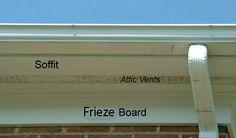 frieze board trim - Google Search