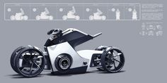 Picked up by CGchips. tutorials and news site… Concept Motorcycles, Custom Motorcycles, Volkswagen, Bike Sketch, Motorbike Design, Offroader, Futuristic Motorcycle, Automobile, Automotive Design