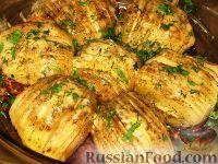 Фото приготовления рецепта: Картофельные веера с сыром - шаг №5