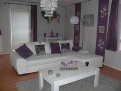 Photos salon gris et violet blanc page 2