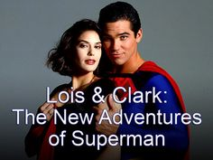 Dear Superman Franchise: What happened? This show was awesome, sort of stuck to the superman canon and then the movies went downhill. Superman And Lois Lane, Adventures Of Superman, New Adventures, Go To Movies, Movies And Tv Shows, Science Fiction Tv Shows, Dean Cain, Clark Kent, Canon