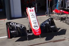 Round 1, Rolex Australian Grand Prix 2013, Preparation, Marussia F1 Team MR02, Front Wing Detail Marussia F1, Australian Grand Prix, Auto Motor Sport, Golf Bags, Rolex, Detail, Sports, Autos, Formula 1