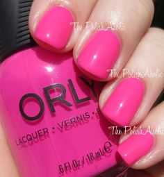 Orly Summer 2014 Baked Collection Color: Neon heat
