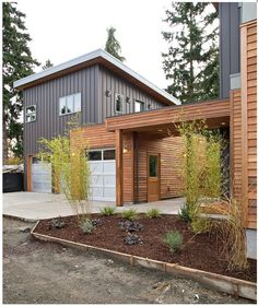 Exterior Gray Stucco Wooden Modern Siding Options Combination Modern House Design Spaceful