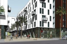 David Baker Architects: EQR 801 Brannan Street, a new apartment community in San Francisco.