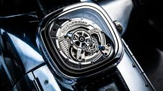 NEW SEVENFRIDAY S-Series S1/01 Steel & Recycled Nylon Men's Automatic Watch