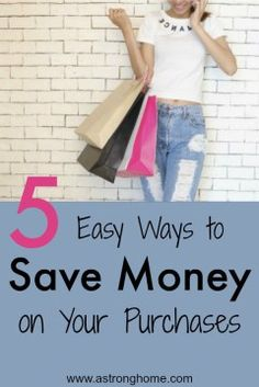 Quickstart guide to using apps to save money on your everyday purchases.