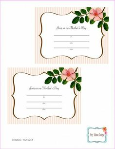free MOTHER'S DAY printable pack