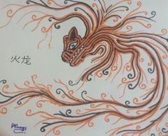 The fire dragon | Rareș Neagu on Patreon
