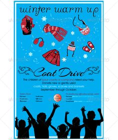 Kid Poster Poster for Children's Coat Drive or any children's winter event. Kid Poster Poster for Children's Coat Drive or any children's winter event. Donation Drop Off, Coat Drive, Little Free Pantry, Drive Poster, Community Service Projects, Christmas Service, American Heritage Girls, Winter Photos, Poster