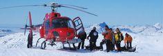 Heli-skiing in Greenland... For the adrenaline junkies!