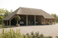 eikenhouten carport