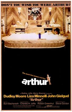 Arthur (1981). Charming but incessantly intoxicated multimillionaire Arthur Bach (Dudley Moore) stands on the brink of an arranged marriage to properly pedigreed heiress Susan Johnson (Jill Eikenberry), but his heart belongs to a working-class filcher (Liza Minnelli). When his family threatens to cut off Arthur's inheritance if he doesn't marry Susan, he asks loyal squire Hobson (John Gielgud, who chalked up an Oscar for his supporting role) to lend a hand...10