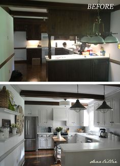 Dear Lillie: Our Kitchen Makeover on a Budget (Phase 1)