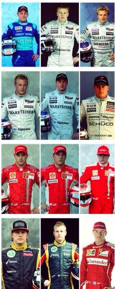 Kimi from 2001 - 2014