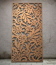 Miles and Lincoln - the UK's leading designer of laser cut screens for architecture and interiors, laser cut panels, balustrades and suspended ceilings Wood Decor, Metal Panels, Decorative Screens, Cnc Design, Metal Screen, Metal Wall Art, Decorative Panels, Wood Design, Lasercut Design