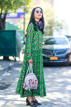 The best street style looks from outside the shows at NYFW:
