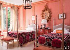 Jorge Elias Twin Bedroom via AD