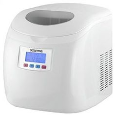 Per Day Express Machine Can Make Over 26 lbs Get Ice in as Quick as 10 Minutes Compact and Professional Stainless Steel 2 Quart Water Tank Gourmia GI500 Electric Ice Maker