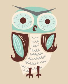 'Mr. Owl' (illustrator unknown)