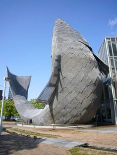 Frank Gehry Fish Restaurant | See More Pictures | #SeeMorePictures