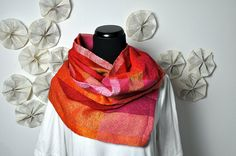 handwoven scarf by Fabricated Ends