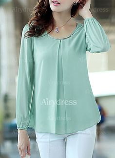 Plus Size Patterns, Altering Clothes, Formal Wear, Blouse Designs, Ideias Fashion, Dressing, Tunic Tops, My Style, How To Wear