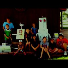 Robot Day at Grandma Camp 2012