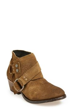 'Tortuga' Leather Bootie