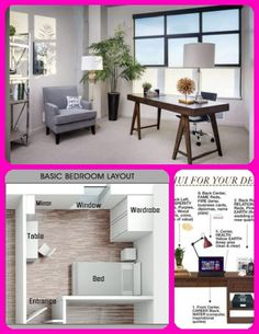 Feng Shui Tips for Your Home Office Feng Shui Colours For Home, Feng Shui Home Office, Feng Shui Tips, Bedroom Layouts, Table, Furniture, Color, Home Decor, Decoration Home
