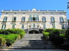 Il retro di Villa Floridiana (Vomero-Napoli)