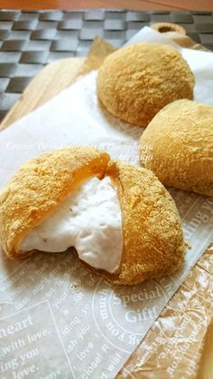Made ar miežu tējas ☆ Fuwatoro studenti Kuriimu Bracken rīsu kūka.