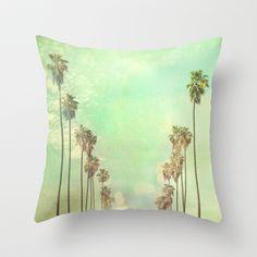Los Angeles. La La Land photograph Throw Pillow by Myan Soffia - $20.00
