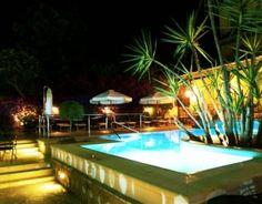 La piscina dell'hotel Zi Teresa Sorrento di notte! -  The Hotel ZI Teresa Sorrento Swimming Pool in the night