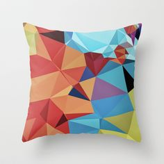 inner peace Throw Pillow by Contemporary - $20.00