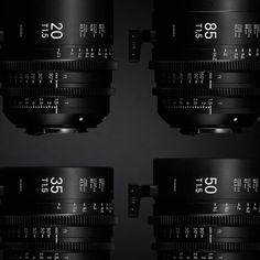 Sigma Enters the Cinema Lens Market with the Release of its Cine Lens Series