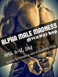 BookLover Sue: Alpha Male Madness Giveaway Hop - April 11 to 18
