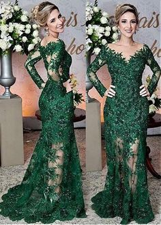 Fabulous Tulle Jewel Neckline Floor-length Mermaid Mother Of The Bride Dress With Lace Appliques & Beadings Abendkleider Ballkleider Ball Dresses, Ball Gowns, Prom Dresses, Formal Dresses, Wedding Dresses, Lounge Dresses, Formal Outfits, Tulle Wedding, Gown Wedding