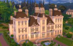 JarkaD Sims 4: Mansion VICTORIA • Sims 4 Downloads  Check more at http://sims4downloads.net/jarkad-sims-4-mansion-victoria/