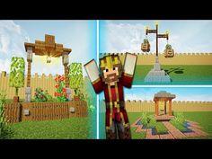 DECORACIONES PARA MINECRAFT - JARDÍN  😍 Diy Minecraft, Ferris Wheel, Fair Grounds, Travel, Minecraft Decorations, Decorating Rooms, Ornaments, Viajes, Destinations